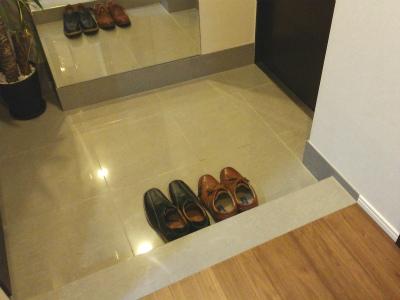 風水玄関靴2